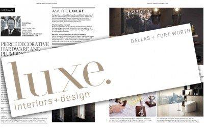 Pierce Hardware in Luxe Magazine