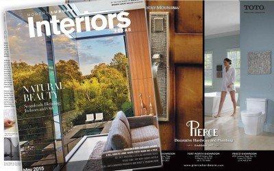 Pierce Hardware in Modern Luxury Interiors Texas Magazine