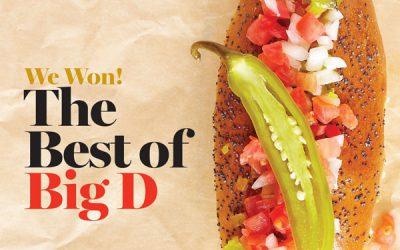 Winner Best of Big D 2016