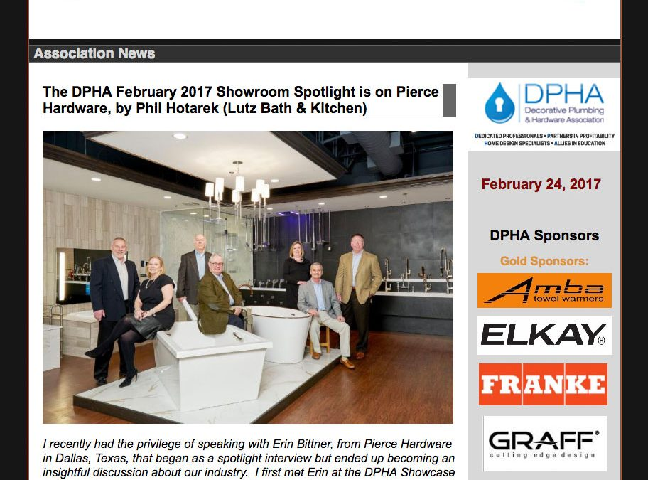 DPHA Showroom Spotlight